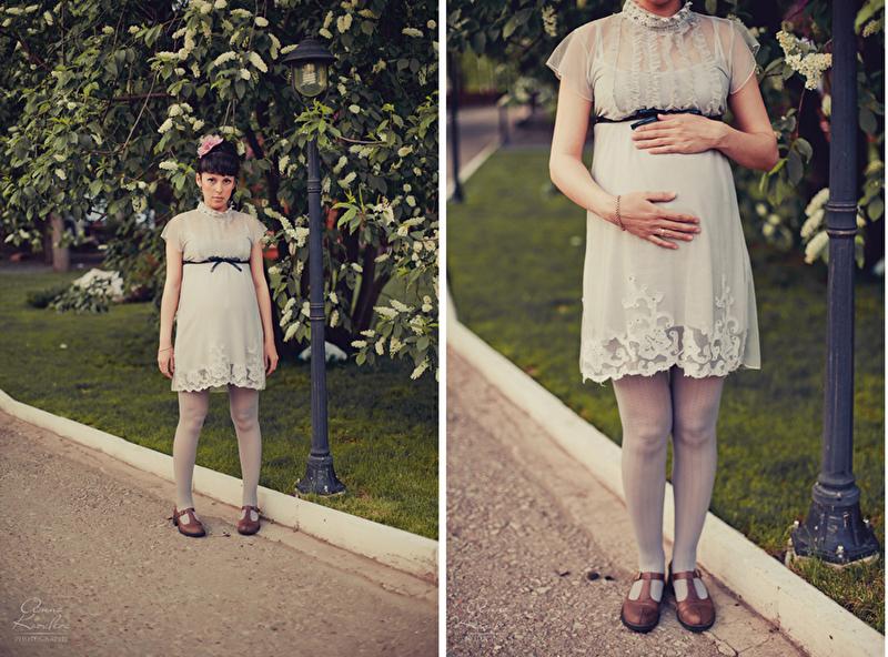 Ретро фото беременная 11 фотография