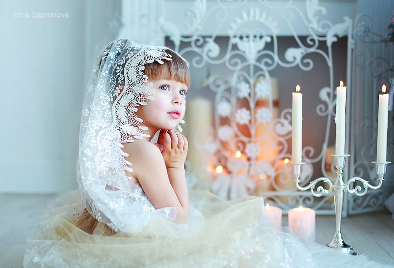 Красивые дети Ирины Сапроновой